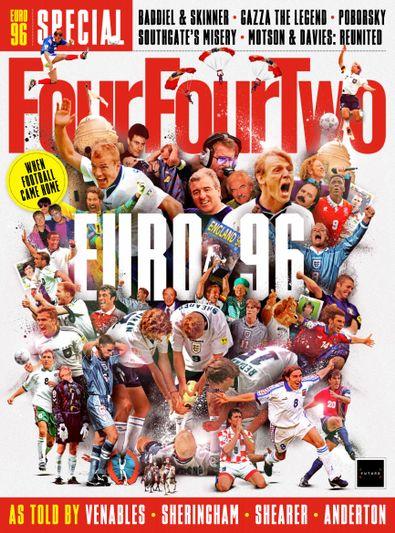 FourFourTwo UK digital cover