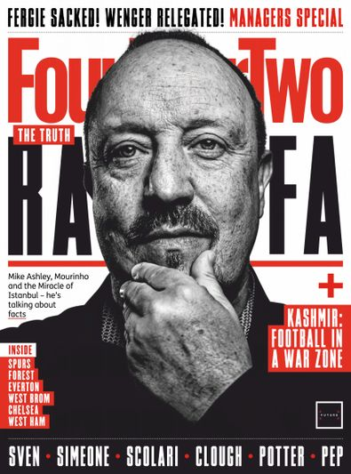 FourFourTwo UK digital cover