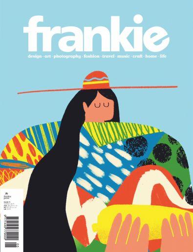 frankie Magazine digital cover