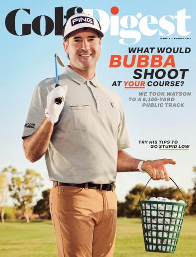 Golf Digest digital cover
