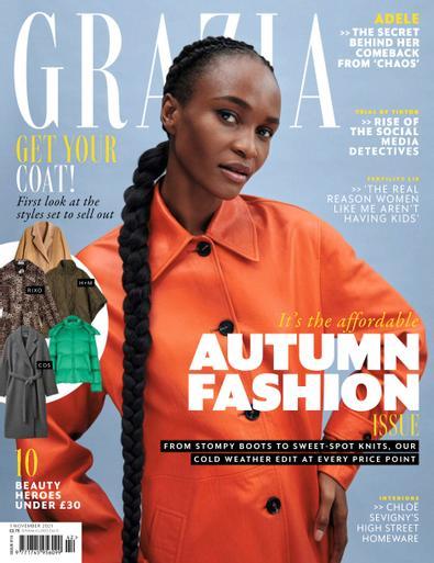 Grazia (UK) digital cover