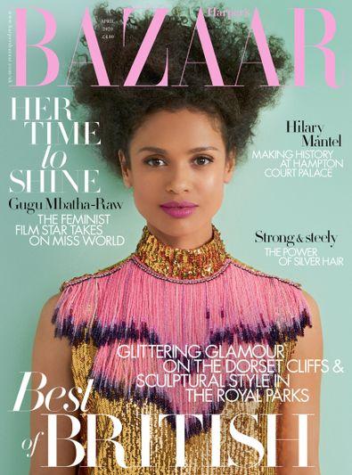 Harper's Bazaar UK digital cover