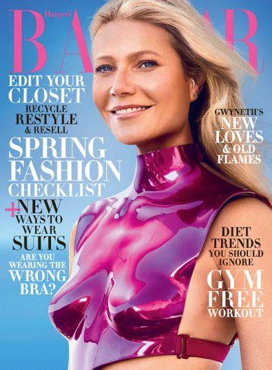 Harper's Bazaar digital cover
