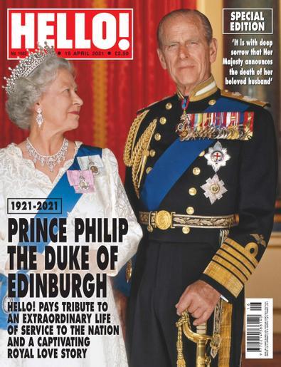 HELLO! magazine digital cover