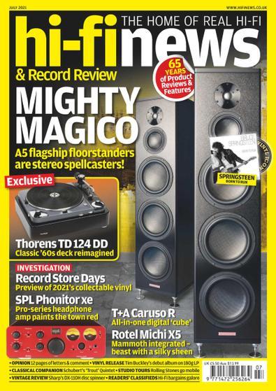 Hi Fi News digital cover