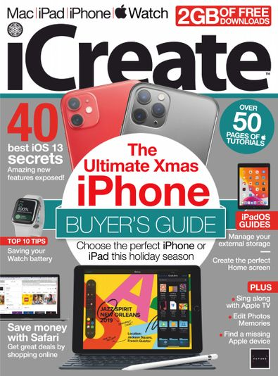 iCreate digital cover