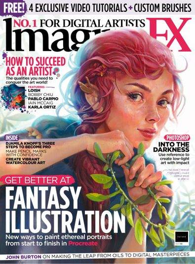 ImagineFX digital cover