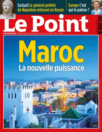 Le Point digital cover