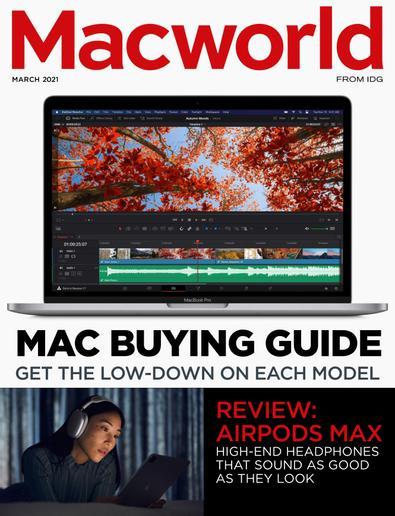 Macworld UK digital cover