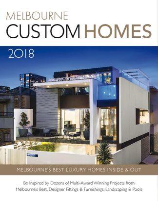 Melbourne Custom Homes digital cover