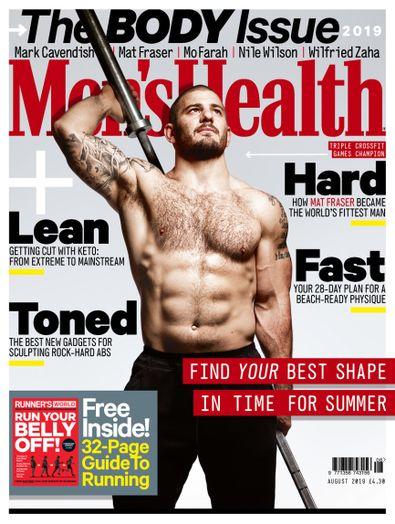 Men's Health UK digital cover