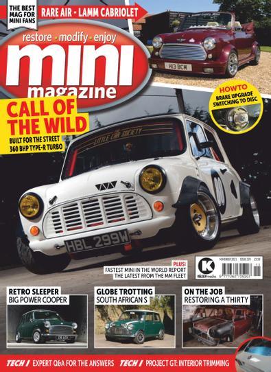 Mini Magazine digital cover