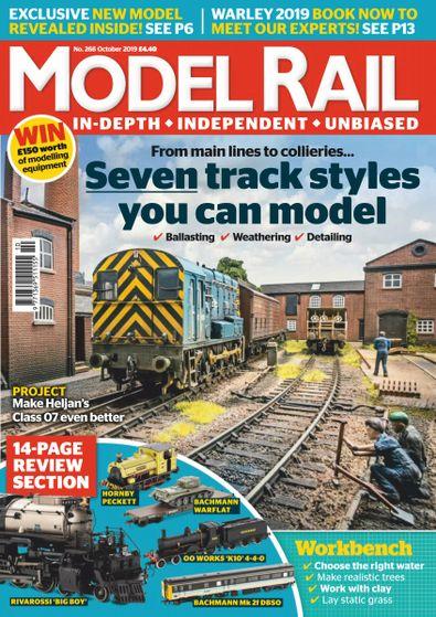 Model Rail digital cover