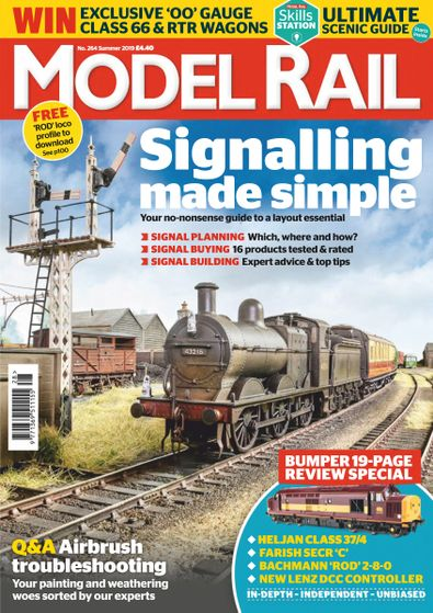 Model Rail digital cover