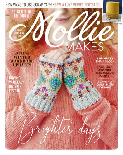 Mollie Makes digital cover