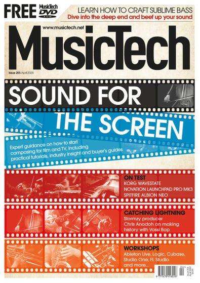 Music Tech Magazine digital cover