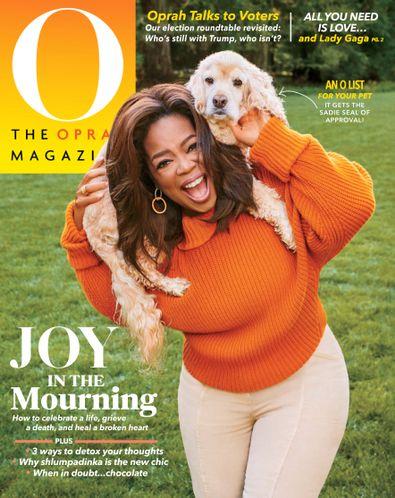 O, The Oprah Magazine digital cover
