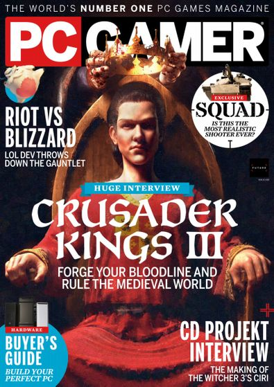 PC Gamer digital cover