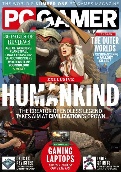 PC Gamer digital cover