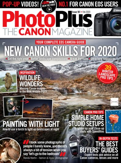 PhotoPlus : The Canon Magazine digital cover