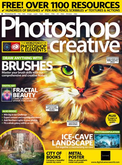 Photoshop Creative digital cover