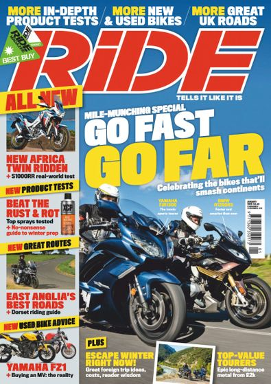 RiDE digital cover