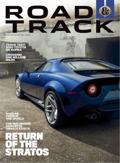 Road & Track digital cover