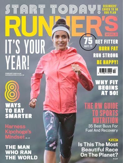 Runner's World UK digital cover