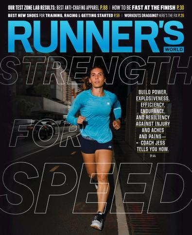 Runner's World digital cover