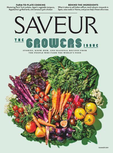 Saveur digital cover