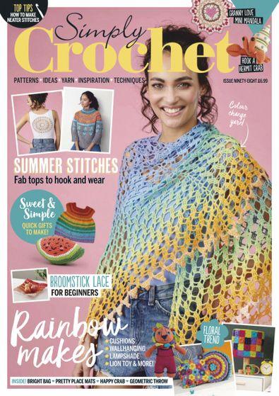 Simply Crochet digital cover