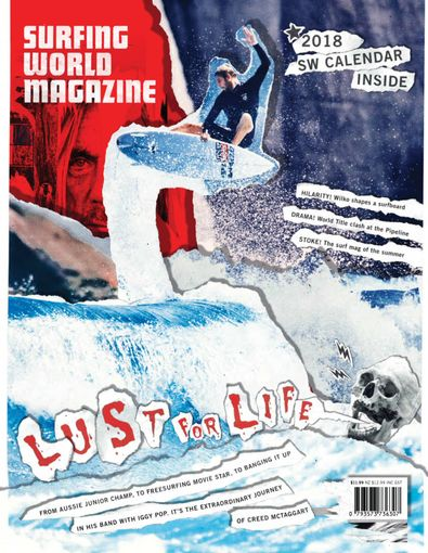 Surfing World Magazine digital cover