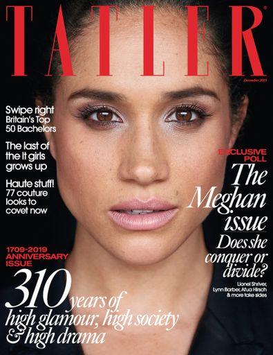 Tatler UK digital cover