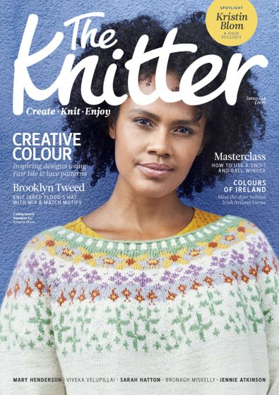The Knitter digital cover