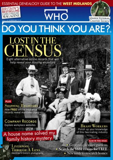 Who Do You Think You Are? digital cover