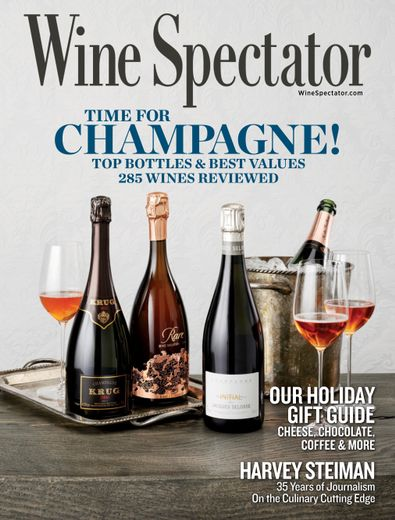 Wine Spectator digital cover