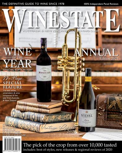 Winestate Magazine digital cover