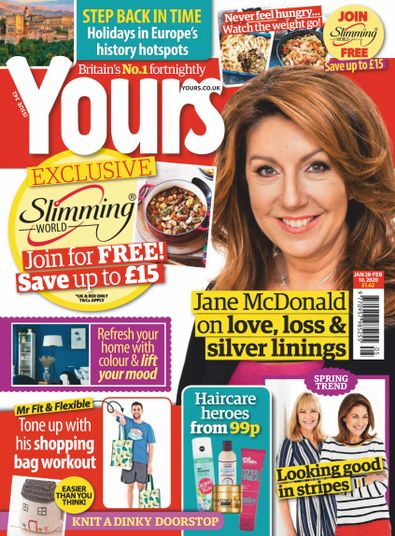 Yours Magazine digital cover