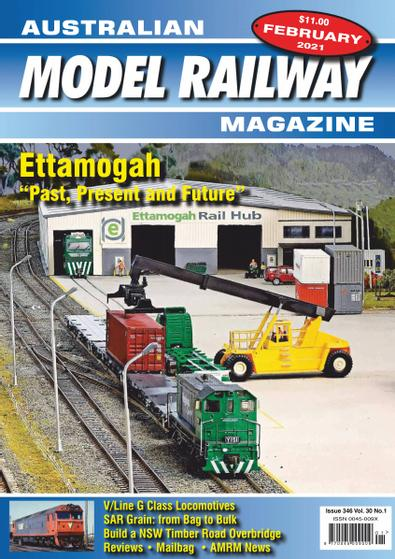 Australian Model Railway Magazine digital cover