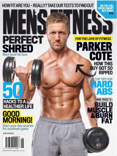 Australian Men's Fitness digital cover