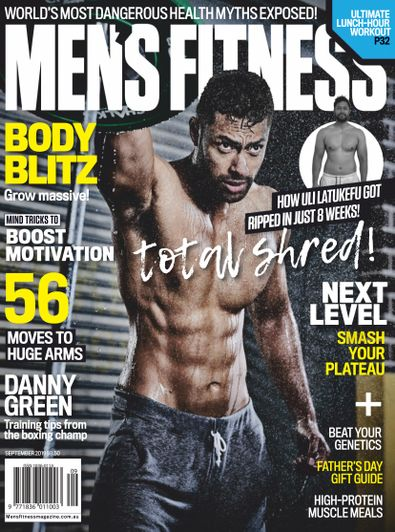 Australian Men's Fitness digital cover
