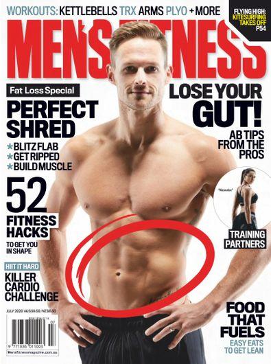 Australian's Men's Fitness digital cover