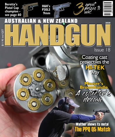 Australian & New Zealand Handgun digital cover