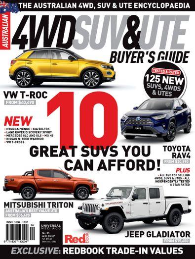 Australian 4WD & SUV Buyer's Guide digital cover