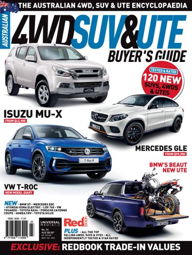 Australian 4WD & SUV Buyer's Guide digital cover