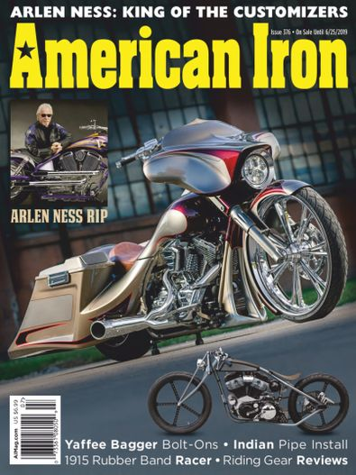 American Iron Magazine digital cover