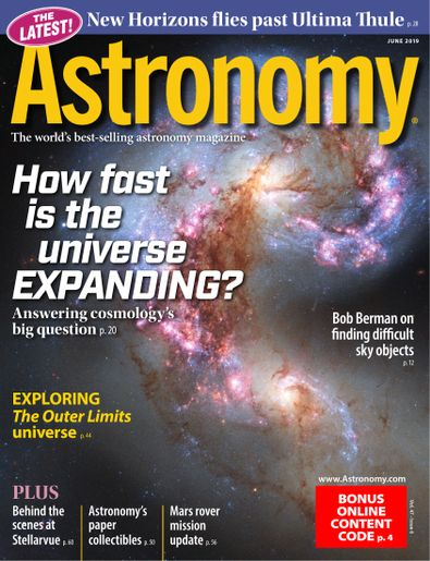 Astronomy digital cover