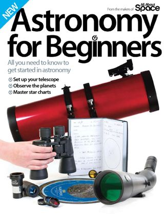 Astronomy for Beginners digital cover
