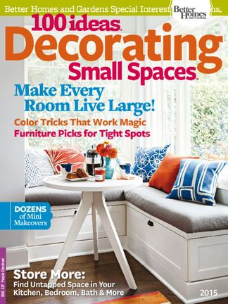 100 Ideas Decorating Small Spaces 2015 digital subscription