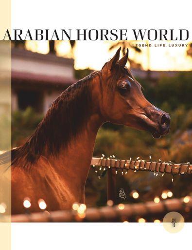 Arabian Horse World digital cover